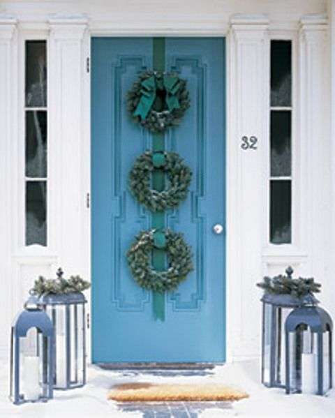 Home show time - Admirable christmas wreath decorating ideas to welcome the december ...