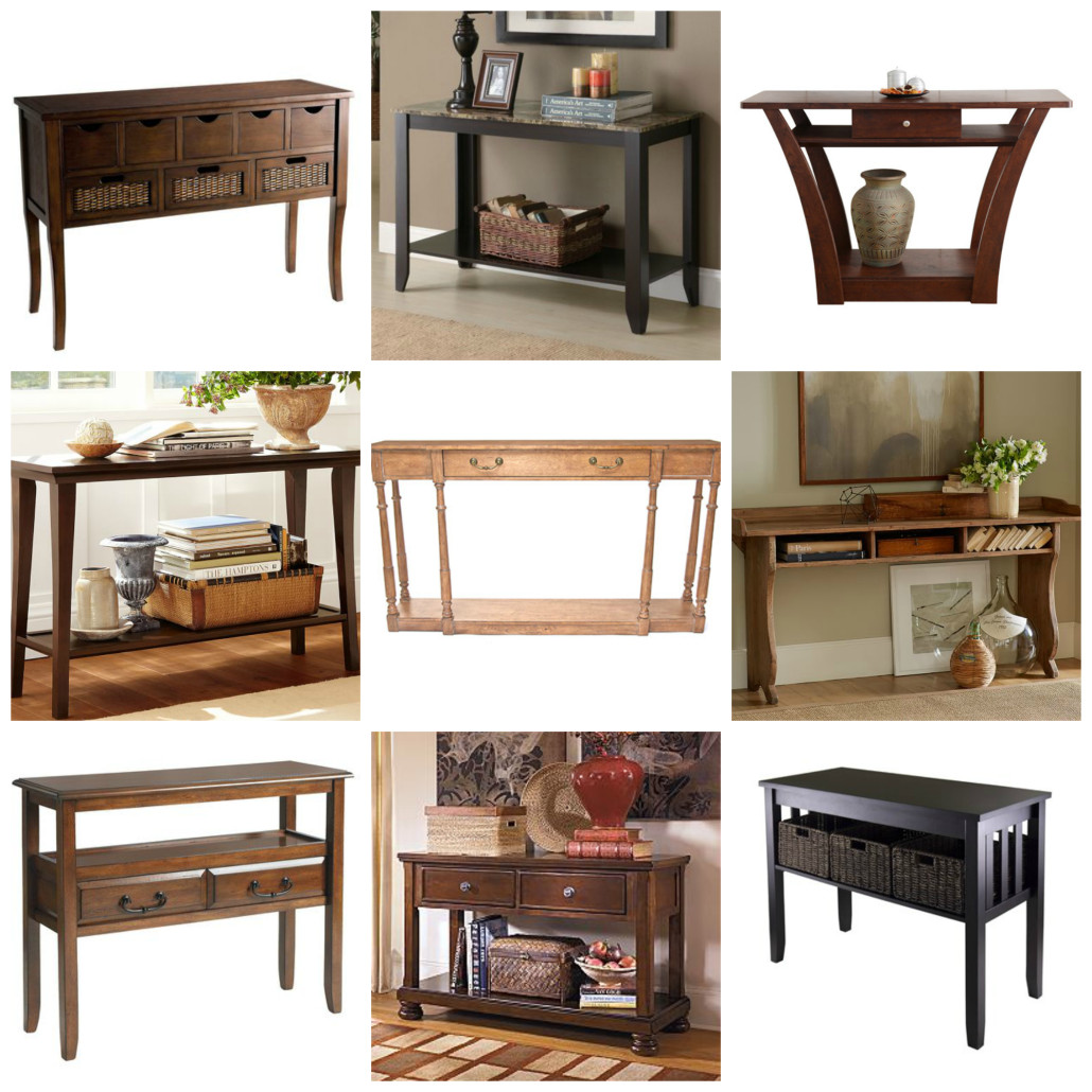 Home show time console table collage geotapseo Images