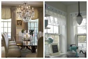 Elegant & Metallic Window Coverings