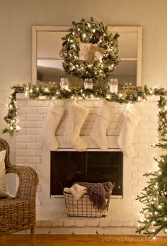 day 3 mantel decorating 12 days of christmas for your home