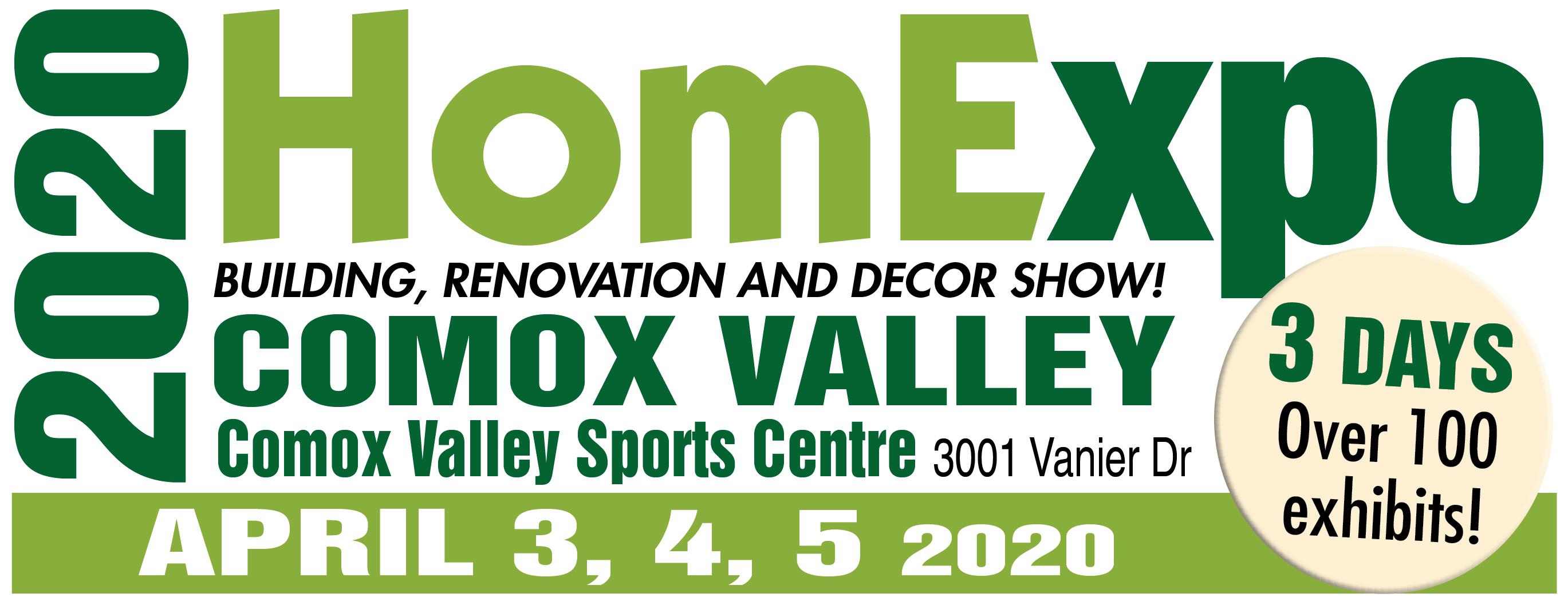 Home Expo 2020.Comox Valley Spring 2020 Home Expo Home Show Time